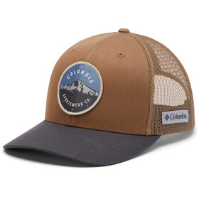 Columbia Mesh Snap Back Hat, delta/shark